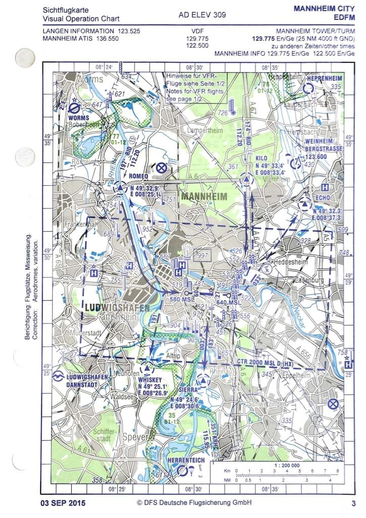 Sichtanflugkarte EDFM