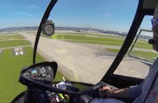 Anflug größerer Flughäfen