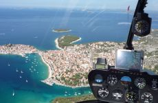 Hubschrauberreise nach Kroatien