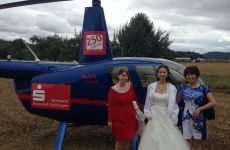 Hochzeitsflug von Launigen nach Hohentengen