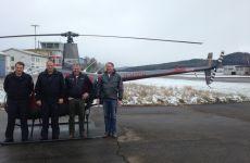 Mit 60 Jahren Helicopterpilot werden
