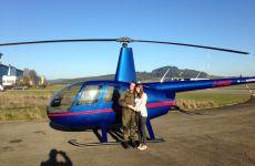 Rundflug mit Hochzeitsantrag