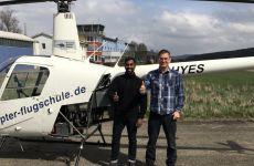 Flug ins Gebirge & 10.000 Flugstunde als Fluglehrer