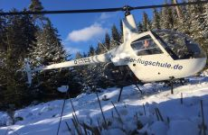 Notverfahren im Schnee üben