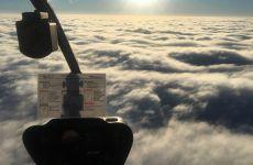 Simulierter Geschäftsflug