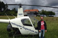 Checkflug & Aussenlandung beim Höhengasthof