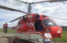 KAMOW KA-32 zu Besuch in Donaueschingen