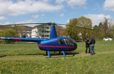 Rundflugaktion in Wurmlingen
