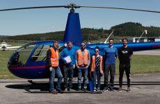 Vom Simulator zum Helikopter