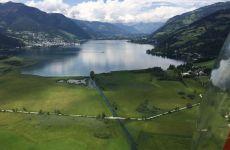 Rundflug über Österreich