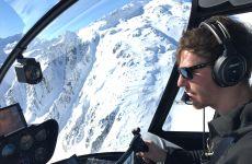"""Flugschülerbericht """"Über die Alpen nach Locarno"""""""