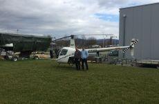 Hubschrauberrundflug zum 60. Geburtstag