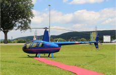 Mit dem Hubschrauber zur Hochzeitsfeier
