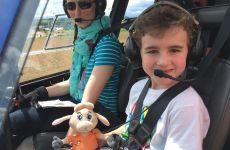 Helicopterpilot für einen Tag