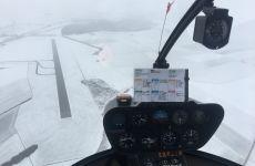 Der erste Schnee in Donaueschingen