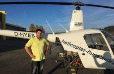Erster Soloflug unseres Flugschülers Georg