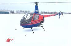 Flugschülerbericht - Einweisung im Schnee