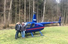 Befähigungsüberprüfung am Flugplatz Mosbach