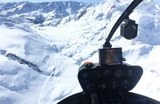 Alpenflug nach Locarno