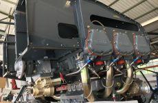 Grundüberholung -  Einrüsten des neuen Motors