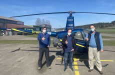 Berufspilotenausbildung CPL(H) auf eigenem Hubschrauber