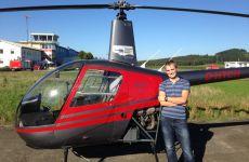 Erster Soloflug erfolgreich absolviert