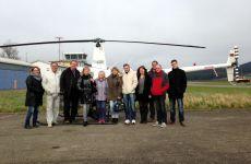 Zum 90. Geburtstag mit dem Heli fliegen