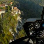 Rundflug für drei Personen, hier über dem Donautal