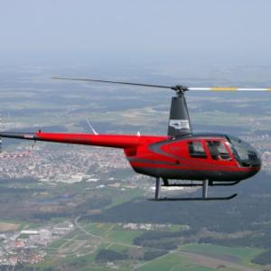 Fliegen mit einer Robinson R44