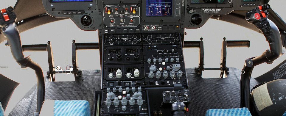 EC135 Cockpit