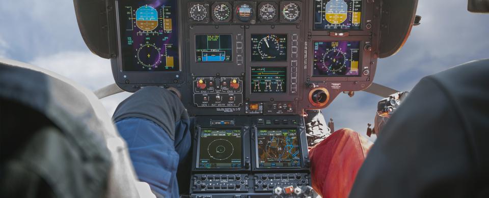 Cockpit EC135