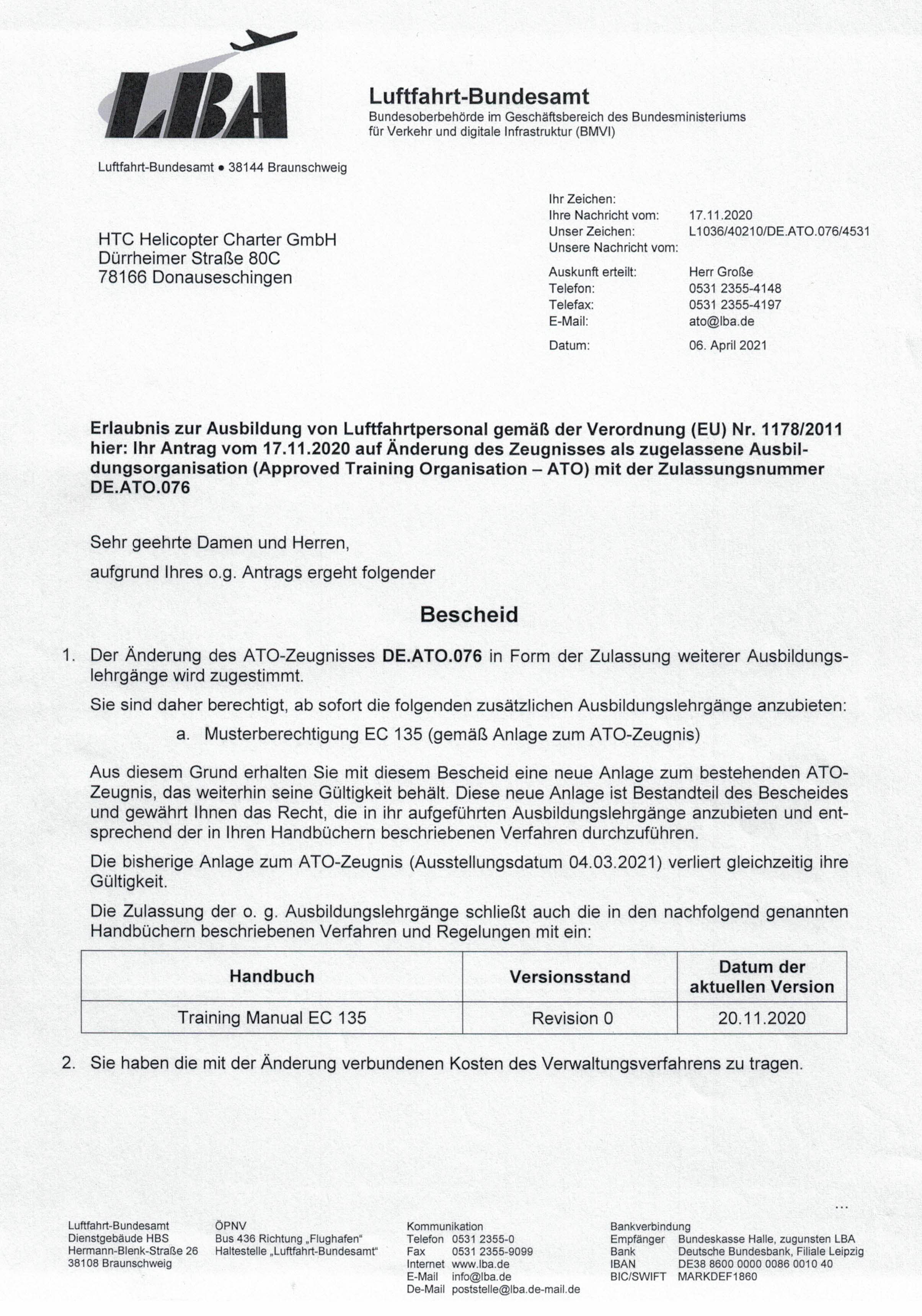 Genehmigung Musterberechtigung EC 135_Seite_1 (1)